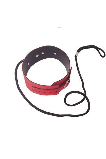 sado-coleiras-coleira-de-pelucia-com-guia-vermelha--p-1538113216220